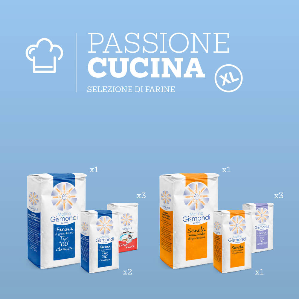 Selezione di Farine per la tua passione in cucina formato XL