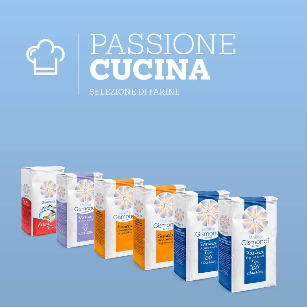 Box selezione Farine per la tua passione in cucina